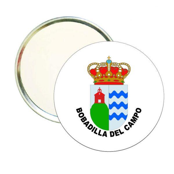 espejo redondo escudo heraldico bobadilla del campo