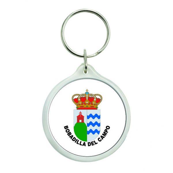 432 llavero redondo escudo heraldico bobadilla del campo