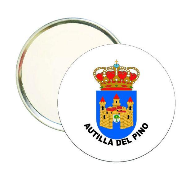espejo redondo escudo heraldico autilla del pino