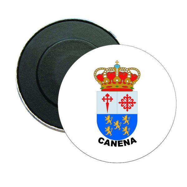iman redondo escudo heraldico canena
