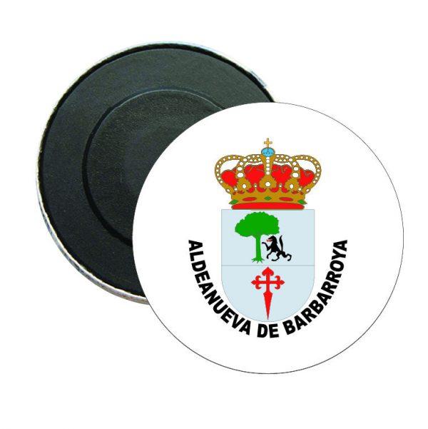 iman redondo escudo heraldico aldeanueva de barbarroya