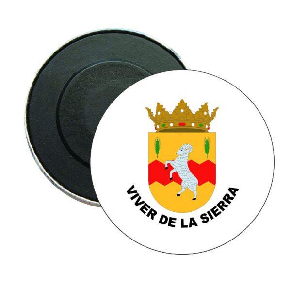 iman redondo escudo heraldico viver de la sierra