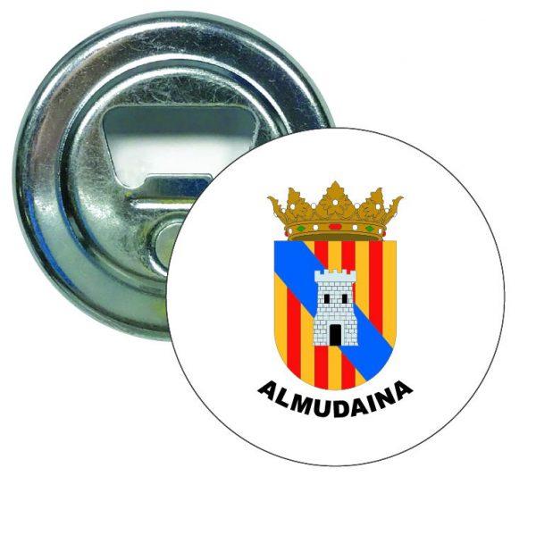 abridor redondo escudo heraldico almudaina