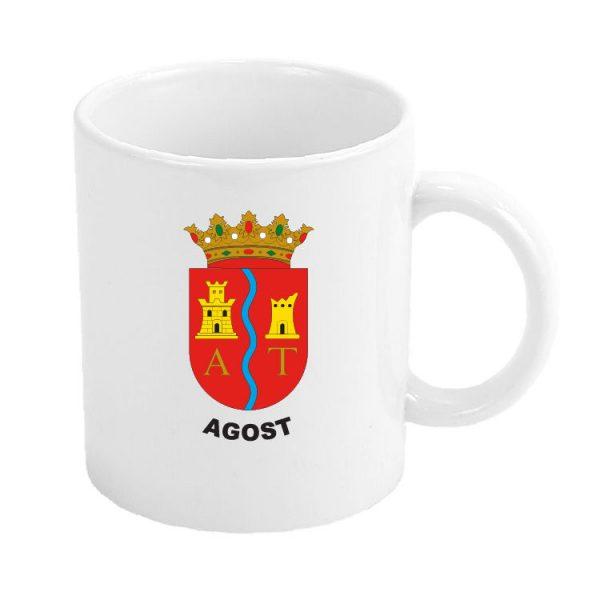 taza escudo heraldico agost