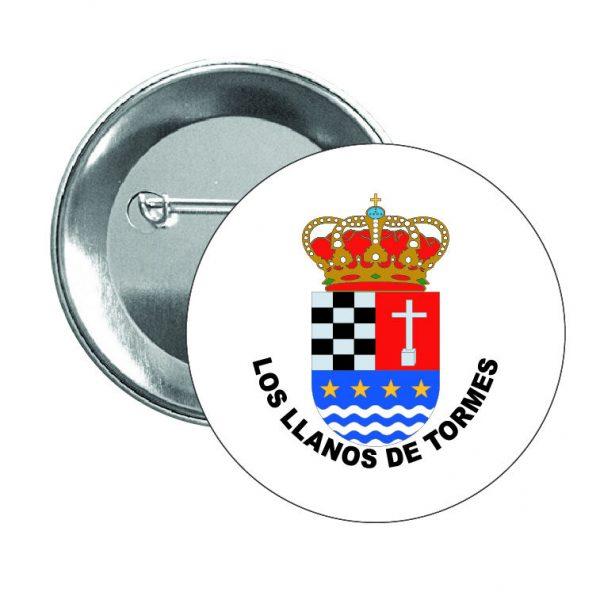 446 chapa escudo heraldico los llanos de tormes