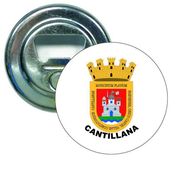 abridor redondo escudo heraldico cantillana