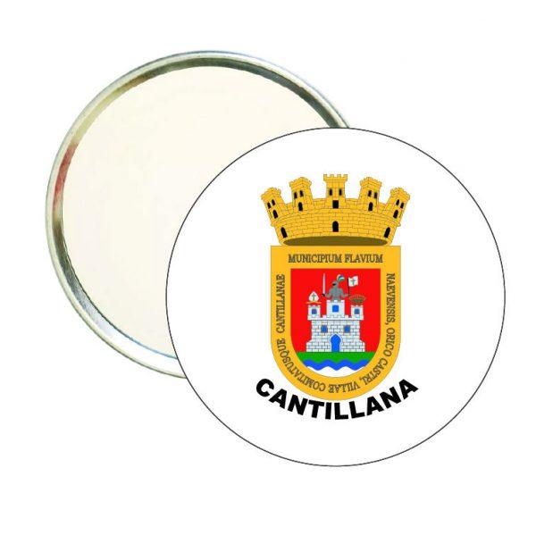 espejo redondo escudo heraldico cantillana