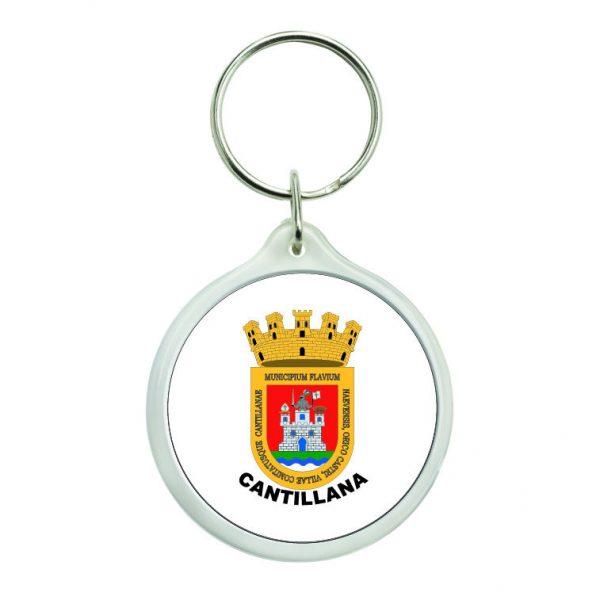 llavero redondo escudo heraldico cantillana