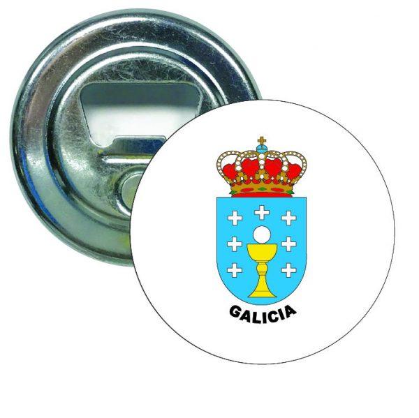 abridor redondo escudo heraldico galicia