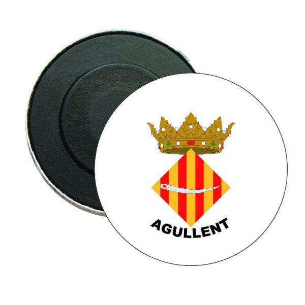 iman redondo escudo heraldico agullent