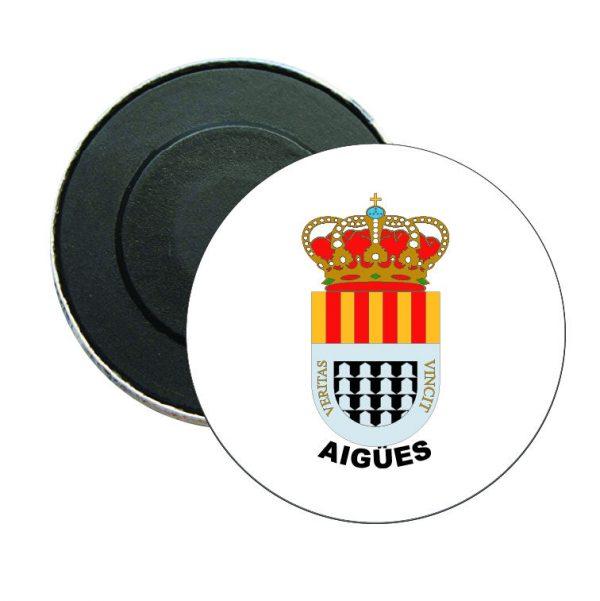 iman redondo escudo heraldico aigues