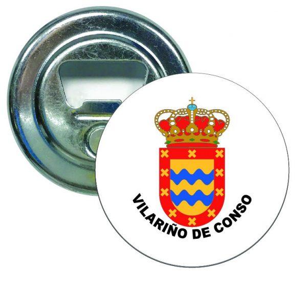 abridor redondo escudo heraldico vilarino de conso