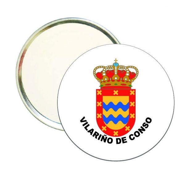 espejo redondo escudo heraldico vilarino de conso