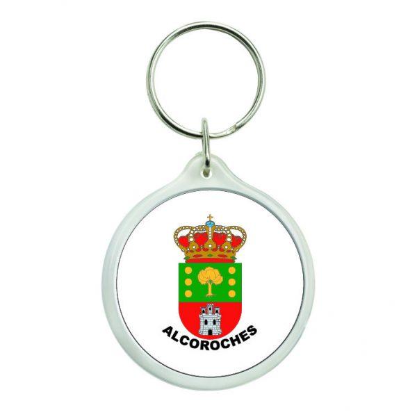 llavero redondo escudo heraldico alcoroches
