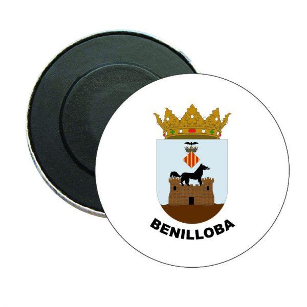 iman redondo escudo heraldico benilloba