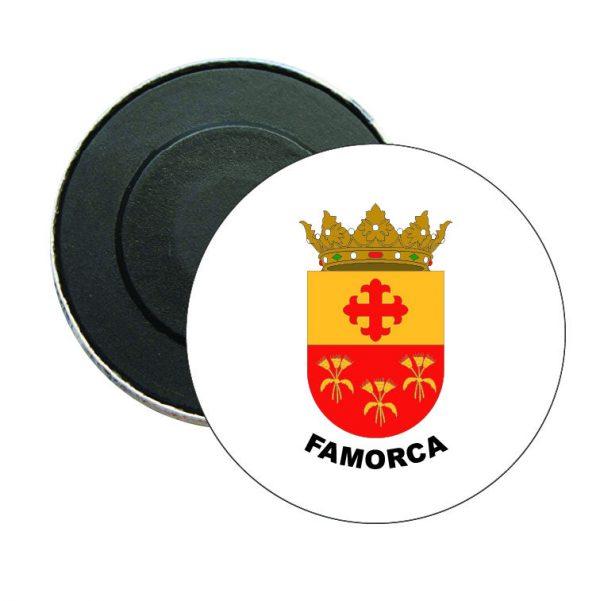iman redondo escudo heraldico famorca
