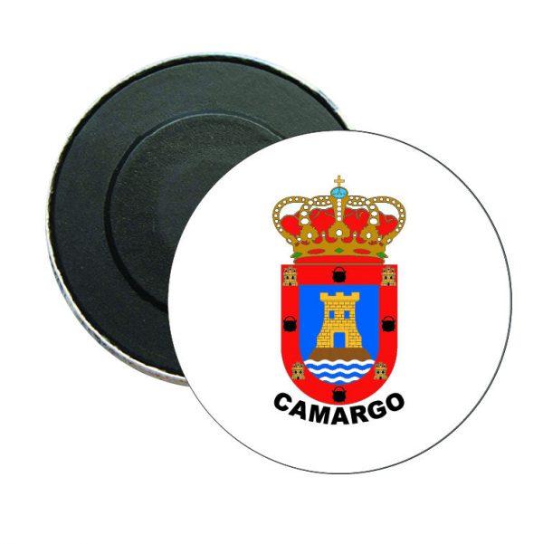 iman redondo escudo heraldico camargo