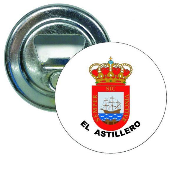 abridor redondo escudo heraldico el astillero