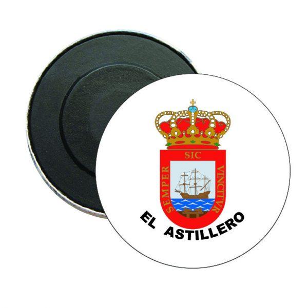 iman redondo escudo heraldico el astillero
