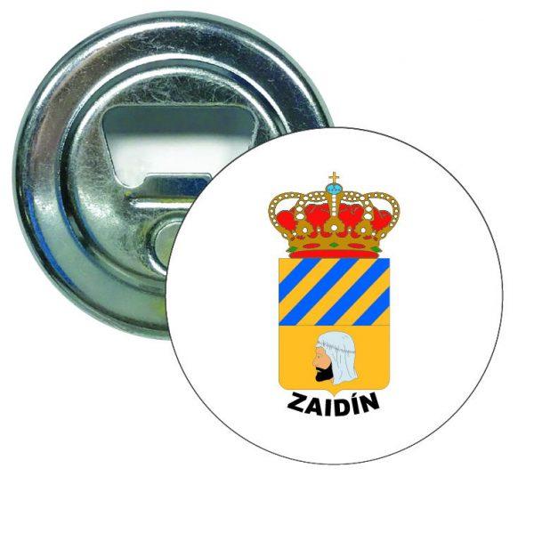 abridor redondo escudo heraldico zaidin
