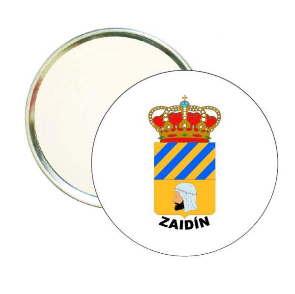 espejo redondo escudo heraldico zaidin
