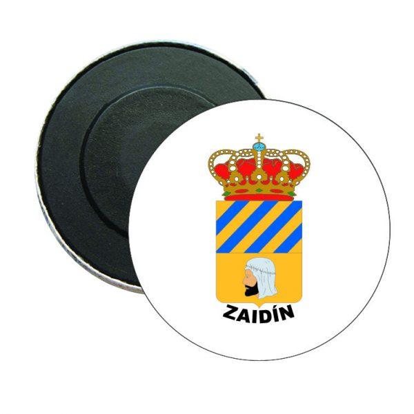 iman redondo escudo heraldico zaidin