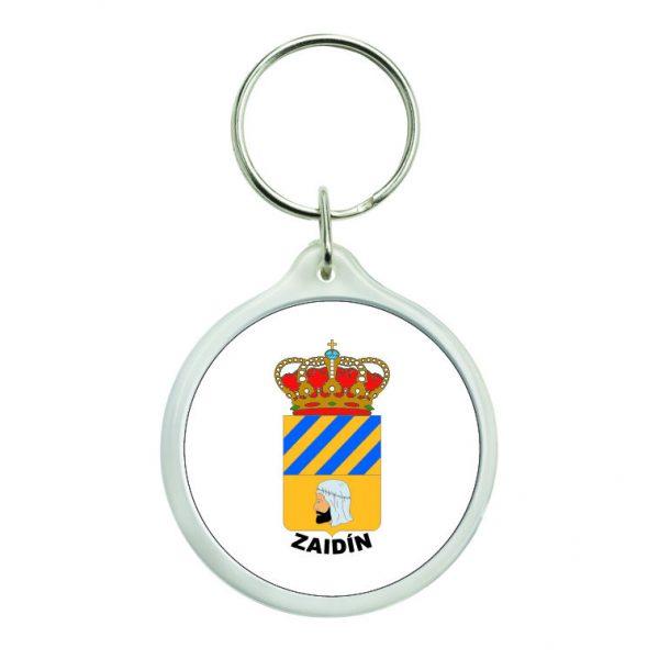 llavero redondo escudo heraldico zaidin