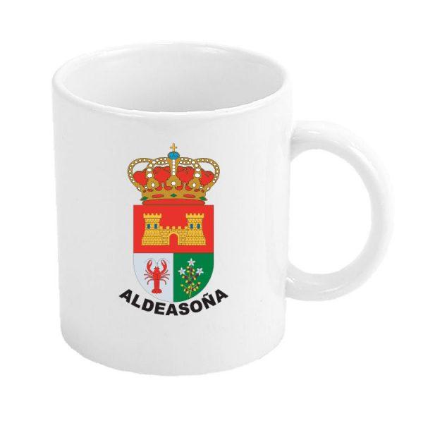 taza escudo heraldico aldeasona