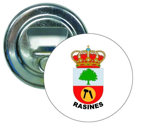 abridor redondo escudo heraldico rasines