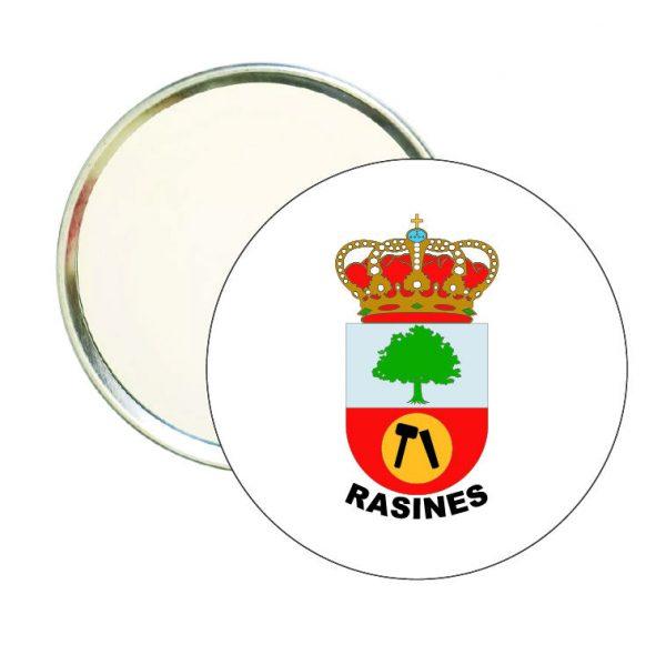 espejo redondo escudo heraldico rasines