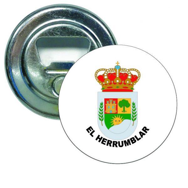 abridor redondo escudo heraldico el herrumblar