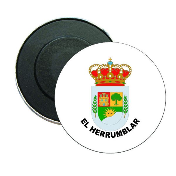 iman redondo escudo heraldico el herrumblar