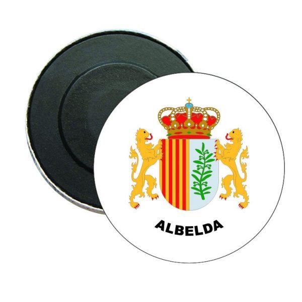 iman redondo escudo heraldico albelda