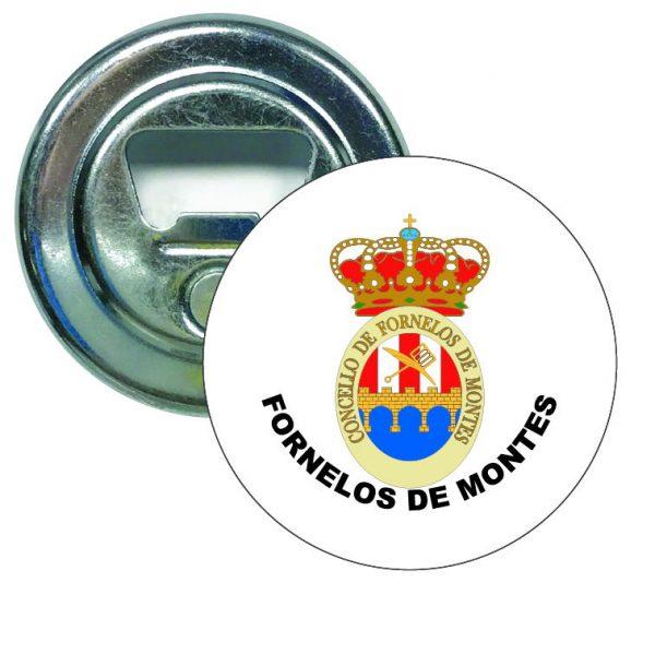 abridor redondo escudo heraldico fornelos de montes