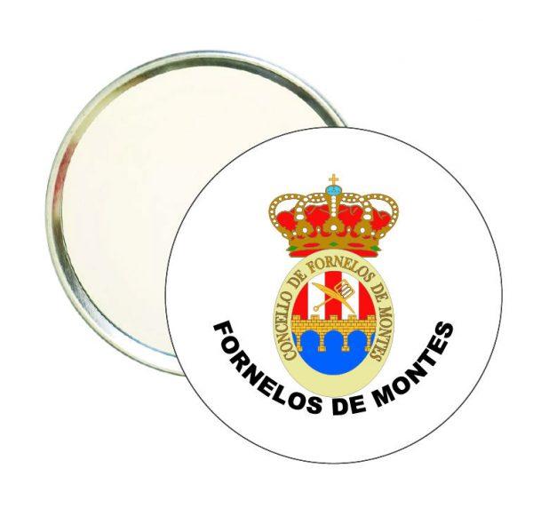 espejo redondo escudo heraldico fornelos de montes