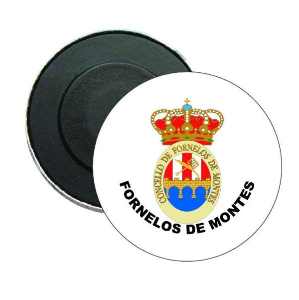 iman redondo escudo heraldico fornelos de montes