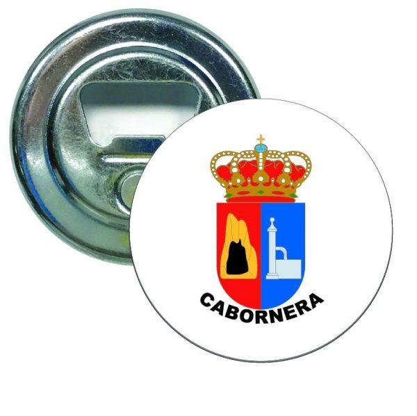 abridor redondo escudo heraldico cabornera