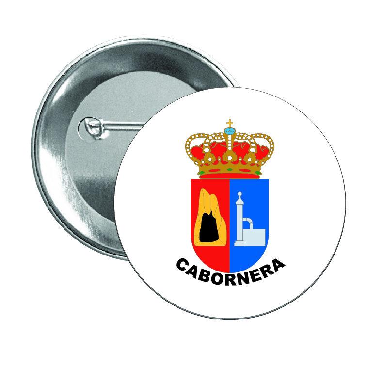 chapa escudo heraldico cabornera