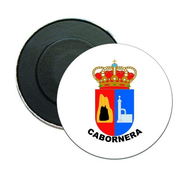 iman redondo escudo heraldico cabornera