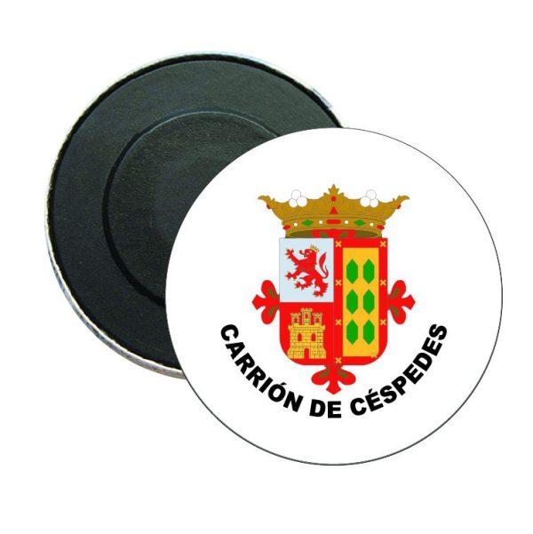 iman redondo escudo heraldico carrion de cespedes