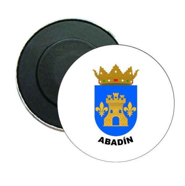 iman redondo escudo heraldico abadin