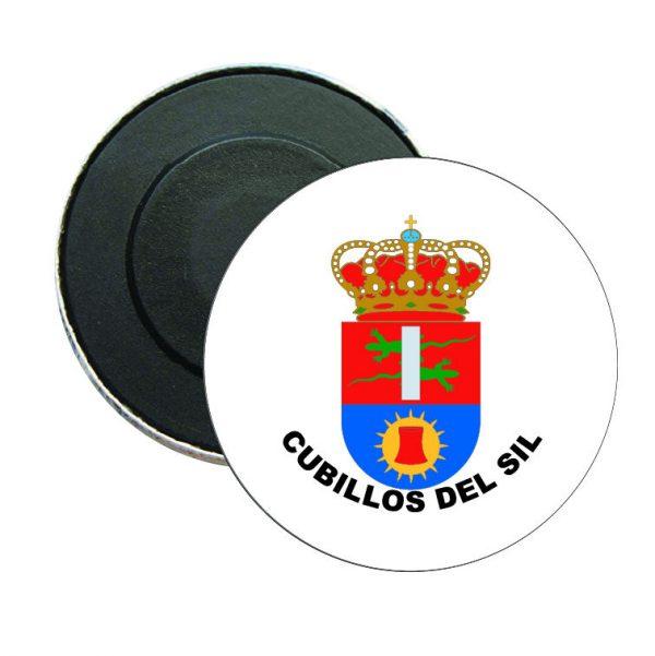 iman redondo escudo heraldico cubillos del sil