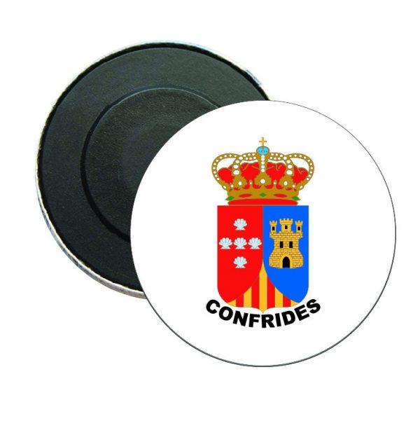 iman redondo escudo heraldico confrides