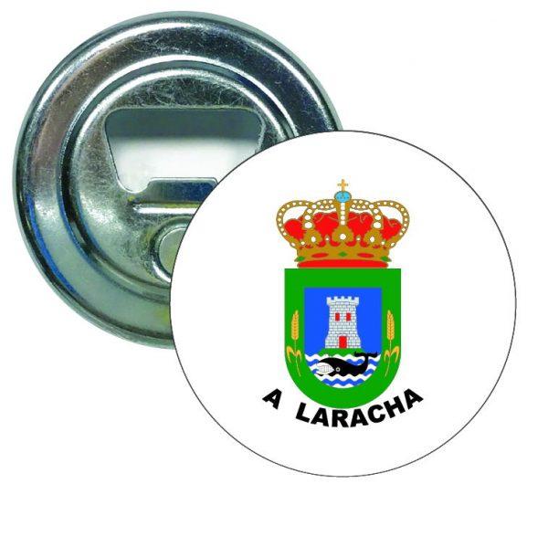 abridor redondo escudo heraldico a laracha