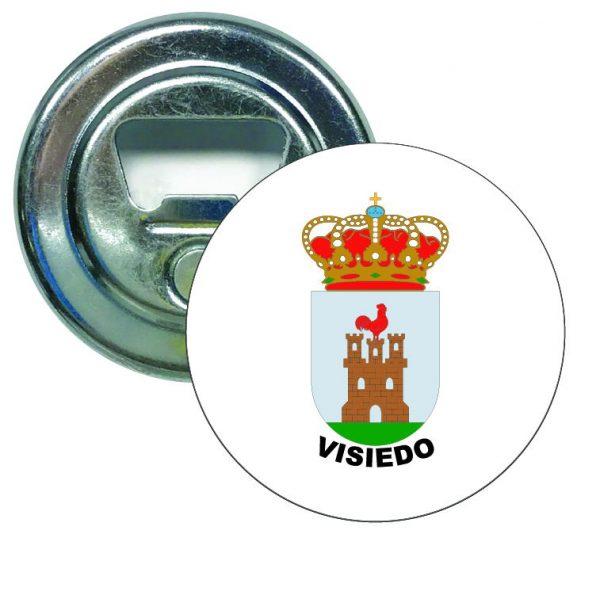 abridor redondo escudo heraldico visiedo
