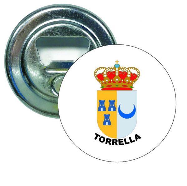 abridor redondo escudo heraldico torrella