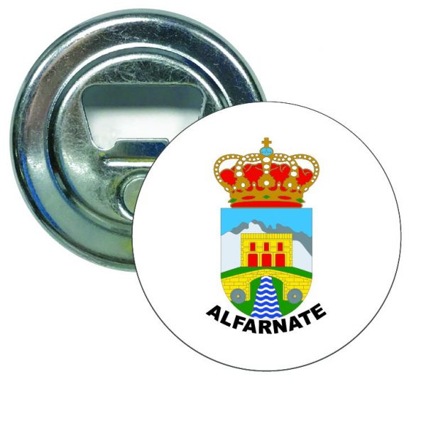 abridor redondo escudo heraldico alfarnate
