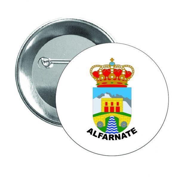 chapa escudo heraldico alfarnate