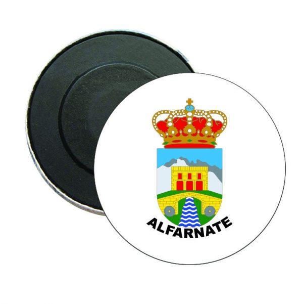 iman redondo escudo heraldico alfarnate