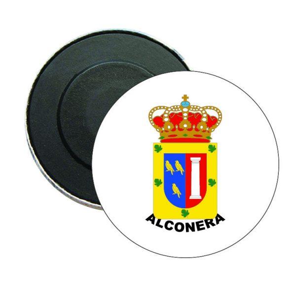 iman redondo escudo heraldico alconera